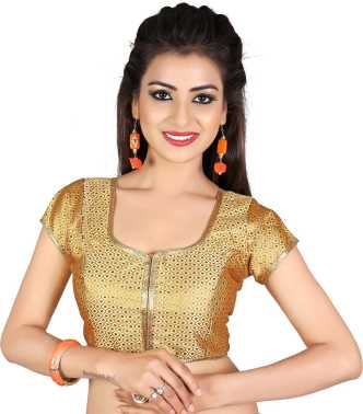 38b211a426cbc1 Gold Blouses - Buy Gold Blouses Online at Best Prices In India ...
