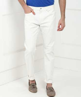 220a5f9650ff0 White Jeans - Buy White Jeans Online at Best Prices In India ...