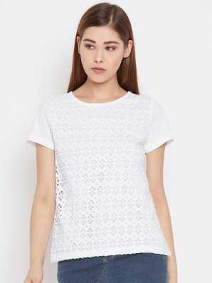 365f225976712 Women T-Shirts - Buy Polos & T-Shirts for Women Online at Best ...