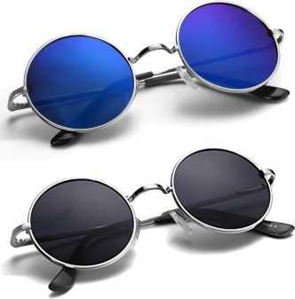 e04ac9f0adcd Round Sunglasses - Buy Round Sunglasses for Men & Women Online at ...