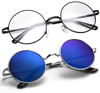 124c24293 Round Sunglasses - Buy Round Frame Sunglasses for Men & Women Online at  Best Prices in India | Flipkart.com