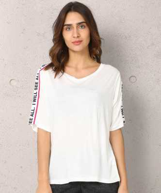 c0f299af662d05 Women T-Shirts - Buy Polos & T-Shirts for Women Online at Best ...