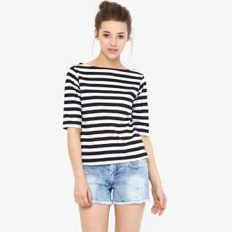 e5ac4240a3af36 Boat Neck Tops - Buy Boat Neck Tops online at Best Prices in India ...