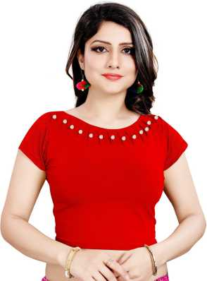 b1ecea6ee8f Saree Blouses | Buy Designer Readymade Blouses for Women | Latest Blouse  Designs & Patterns- Flipkart