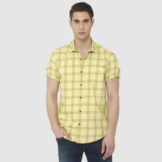 ec8e292f Half Sleeve Shirts - Buy Half Sleeve Shirts Online at Best Prices In ...