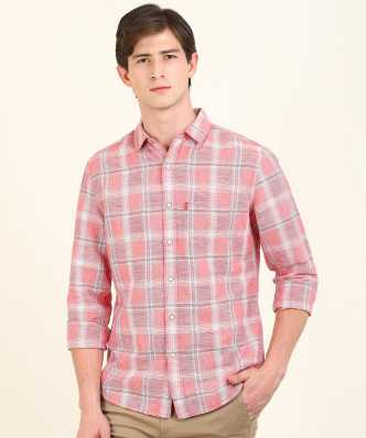 38e06b3d9 Linen Shirts - Buy Linen Shirts online at Best Prices in India ...