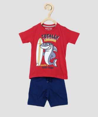 Mother & Kids Beautiful 2018 Summer Beauty Beach Toddler Kids Baby Boys Girls Clothes Set Beachwear T Shirt Tops+shorts Pants Set Outfit Durable Modeling