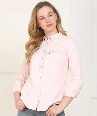 07bc86c1ea Women's Shirts Online at Best Prices In India|Buy ladies' shirts ...