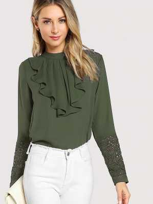 9e71e4cc82 High Neck Tops - Buy High Neck Tops online at Best Prices in India ...