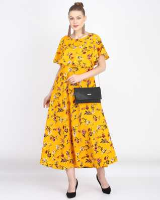 92a280c88505 Yellow Dresses - Buy Yellow Dresses For Women Online at Best Prices In India  | Flipkart.com