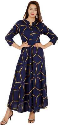 4c38ecbb14 Gown Kurtas Kurtis - Buy Gown Kurtas Kurtis Online at Best Prices In ...