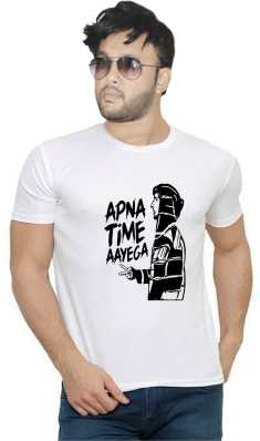 62af16934563 Apna Time Aayega T Shirts - Buy Apna Time Aayega T Shirts online at ...
