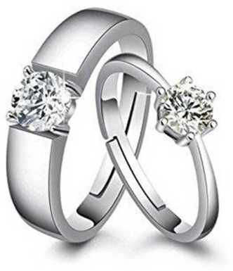 6752a8be7 Love Couple Rings - Buy Fancy Love Rings Designs online at Best Prices in  India | Flipkart.com