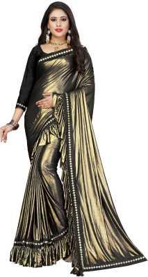 e540ddfcc Golden Saree - Buy Golden Colour Sarees Online at Best Prices In ...