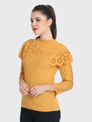 Yellow Tops - Buy Yellow Tops Online at Best Prices In India
