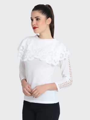 3adbc886c73 High Neck Tops - Buy High Neck Tops online at Best Prices in India ...