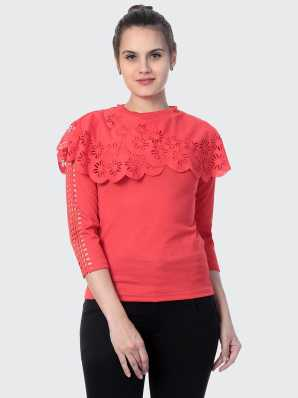 1883109f4a High Neck Tops - Buy High Neck Tops online at Best Prices in India |  Flipkart.com