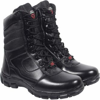Original Vintage Action Man Short Black Boots
