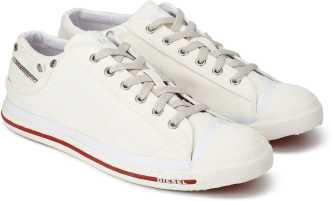best service 8cebc a6666 White Canvas Shoes - Buy White Canvas Shoes online at Best Prices in ...