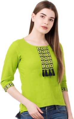 038386e05f0790 Balloon Sleeve Tops - Buy Balloon Sleeve Tops Online at Best Prices In  India | Flipkart.com