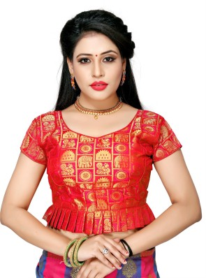 Stand Color Blouse Designs : Saree blouses buy designer readymade blouses for women latest