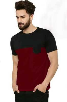 bfc8493911a26 Black T-Shirts - Buy Black T-Shirts Online at Best Prices In India ...