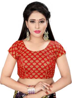 7c205f04dfc184 Net Blouses - Net Blouse Designs Online at Best Prices In India ...