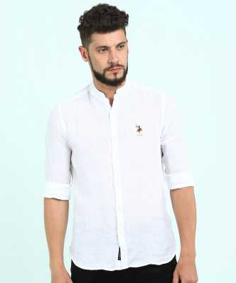 610417b597af Linen Shirts - Buy Linen Shirts online at Best Prices in India ...