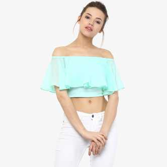 5c937b6134b Off Shoulder Tops - Buy Off Shoulder Tops / One Shoulder Tops Online at  Best Prices In India | Flipkart.com