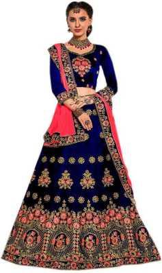 7f52eb9b15 Bridal Lehenga Choli - दुल्हन लेहेंगे | Latest Designer Wedding Lehenga  Collections | Dulhan Lehenga Online | Flipkart.com