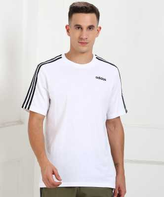 d3c96b0b75 Adidas Tshirts - Buy Adidas T-shirts @ Min 50% Off Online for men |  Flipkart.com