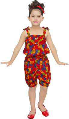 b21511448d1c3c Jumpsuits For Girls - Buy Girls Jumpsuits Online At Best Prices In India -  Flipkart.com