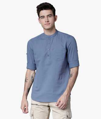 7a2282d0c Linen Shirts - Buy Linen Shirts online at Best Prices in India ...