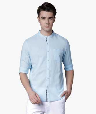 8bf55d597f6f Linen Shirts - Buy Linen Shirts online at Best Prices in India ...