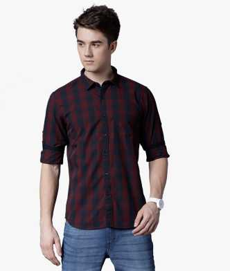 4b43f9560d2 Checkered Shirts - Buy Checkered Shirts Online at Best Prices In ...
