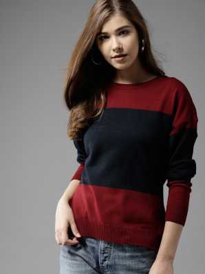0d5efa05d60 Sweaters Pullovers - Buy Sweaters Pullovers Online for Women at Best ...