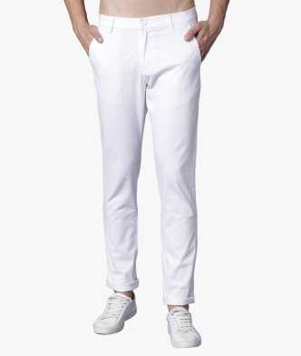 6c909dcb81a White Trousers - Buy White Trousers Online at Best Prices In India ...