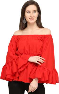 97b5bff2c7c Party Tops - Buy Latest Party Wear Tops Online at Best Prices In ...