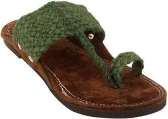 Kolahapuri Chappals - Buy Kolahapuri Chappals For Women