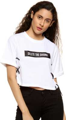 f44503d23d14dd White Crop Tops - Buy White Crop Tops online at Best Prices in India ...