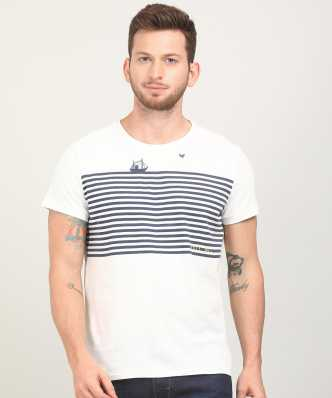 331284e149 White T-Shirts - Buy White T-Shirts Online at Best Prices In India ...
