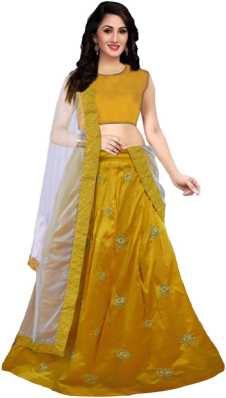 63914be5a6 Yellow Lehenga - Buy Yellow Lehenga Cholis Online at Best Prices In ...