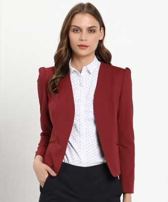 b07df08c1bfd96 Womens Formal Blazers - Buy Blazers For Women Online at Best Prices ...