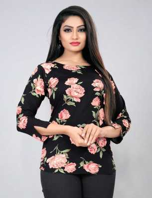 5a041afda5fb Black Tops - Buy Black Tops Online at Best Prices In India ...