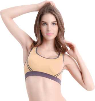 c09b586affb513 Sports Bras - Buy Sports Bras Online for Women at Best Prices in India