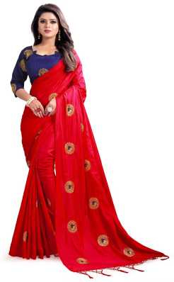 1bc668e99e Red Sarees - Buy Red Sarees Online at Best Prices In India ...