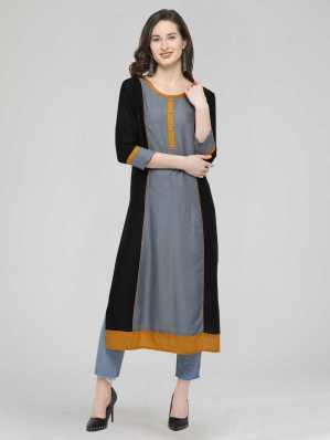 27185ce407c Long Kurtis - Buy Designer Long Kurtis online at Best Prices in ...