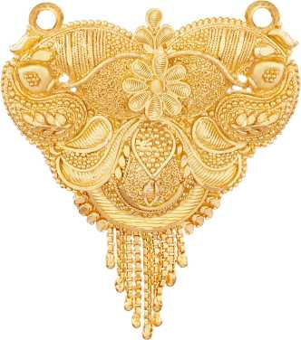 1 Gram Gold Plated Mangalsutra Buy 1 Gram Gold Plated