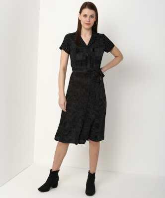 be8fcc30e4 Knee Length Dresses - Buy Knee Length Dresses Online at Best Prices ...