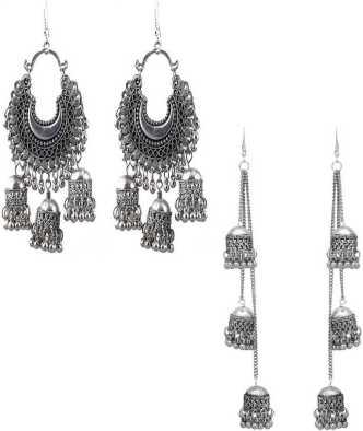 8170d795574 Silver Earrings - Buy Silver Earrings Online | Silver Stud Earrings ...